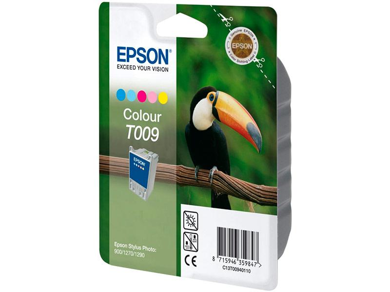 Картридж Epson T009 C13T00940110 для Stylus Photo 900/1270/1290