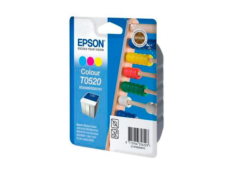 Картридж Epson T0520 C13T05204010 для Stylus Color 760/800/400/440/670/850/860/1160/1520 / Scan 2000/2500