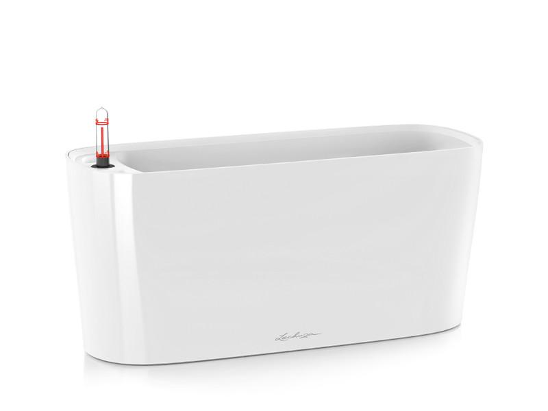 Кашпо Lechuza Дельта 20 с системой полива White 15560