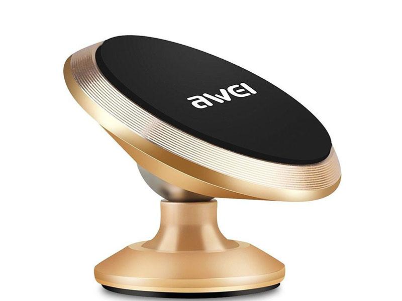 лучшая цена Держатель Awei X6 Gold
