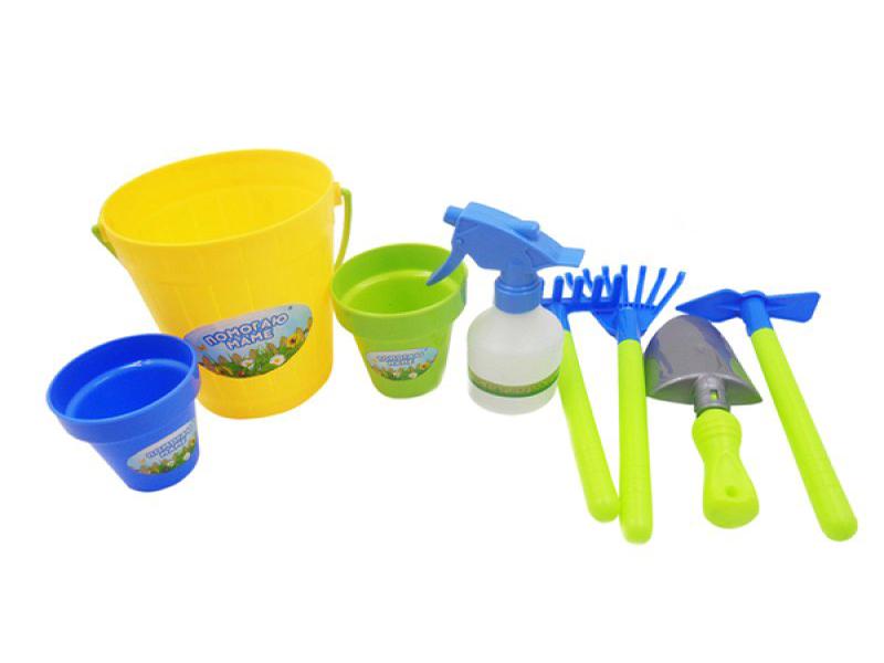 Игрушка ABtoys Набор для садоводства Помогаю маме PT-00603 набор продуктов в корзине abtoys помогаю маме pt 00335