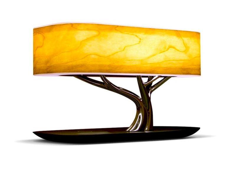 Настольная лампа HomeTree Light Of the Tree Bluetooth +Qi YT-M1602-B2