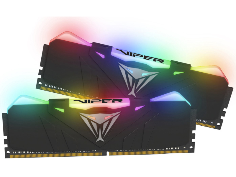 Модуль памяти Patriot Memory DDR4 DIMM 3200Mhz PC4-25600 CL16 - 16Gb KIT (2x8Gb) PVR416G320C6K