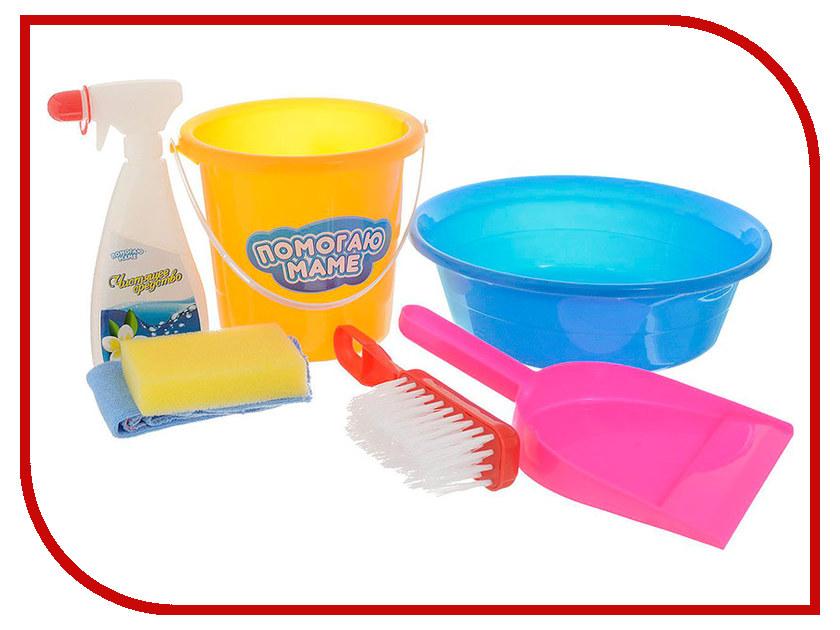 Игра ABtoys Набор для уборки Помогаю маме PT-00647 корзина тележка для продуктов abtoys помогаю маме pt 00358