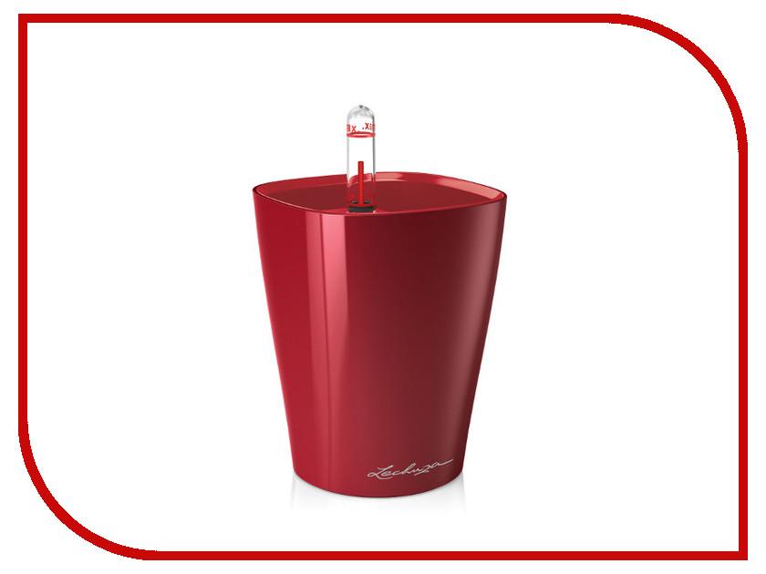 Кашпо Lechuza Мини-Дельтини с системой полива Red 14960 lechuza кашпо каскада колор с системой полива