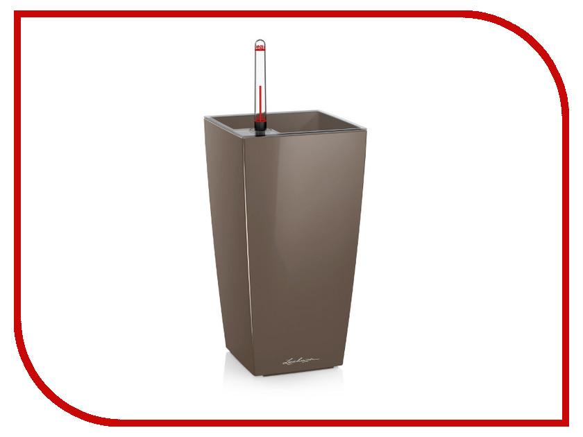 Кашпо Lechuza Макси-Куби Grey-Brown 18069 цены