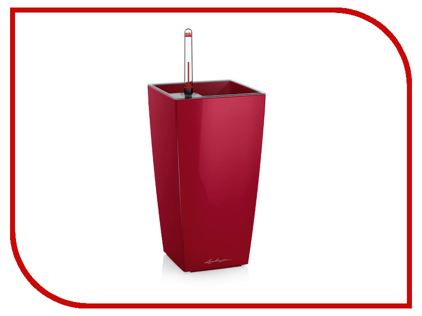 Кашпо Lechuza Макси-Куби Red 18051 цены