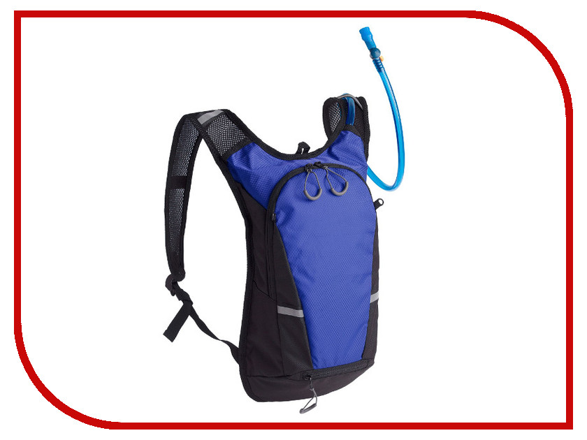 Рюкзак Stride Vattern Black-Blue 2896.40 с питьевой системой