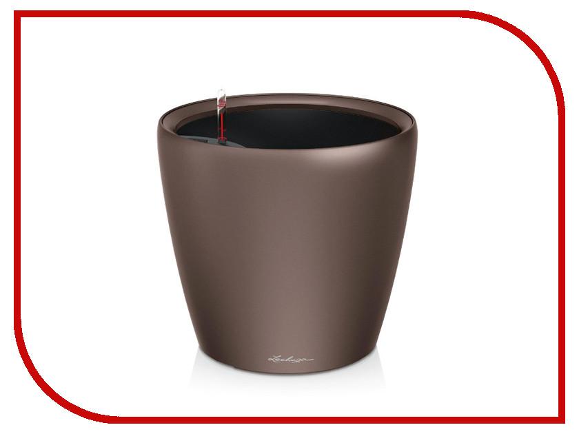Кашпо Lechuza Классико LS 21 с системой полива Coffee 16021 lechuza