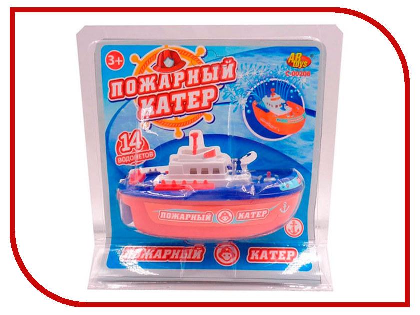 Игрушка ABtoys Пожарный катер C-00206 игрушка abtoys спецтехника c 00140 6807a 1 22 30 см