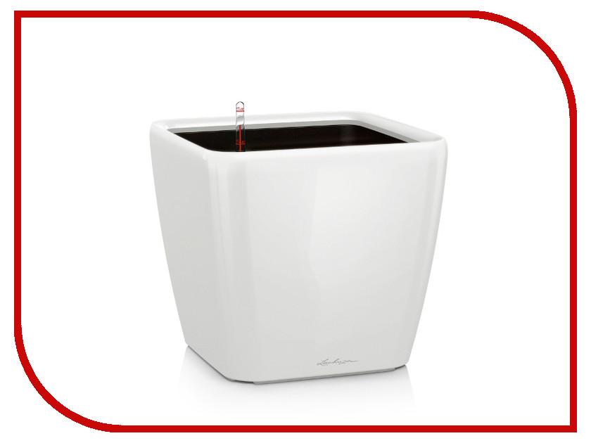 Кашпо Lechuza Квадро LS 21 с системой полива White 16120 ls 5200 white