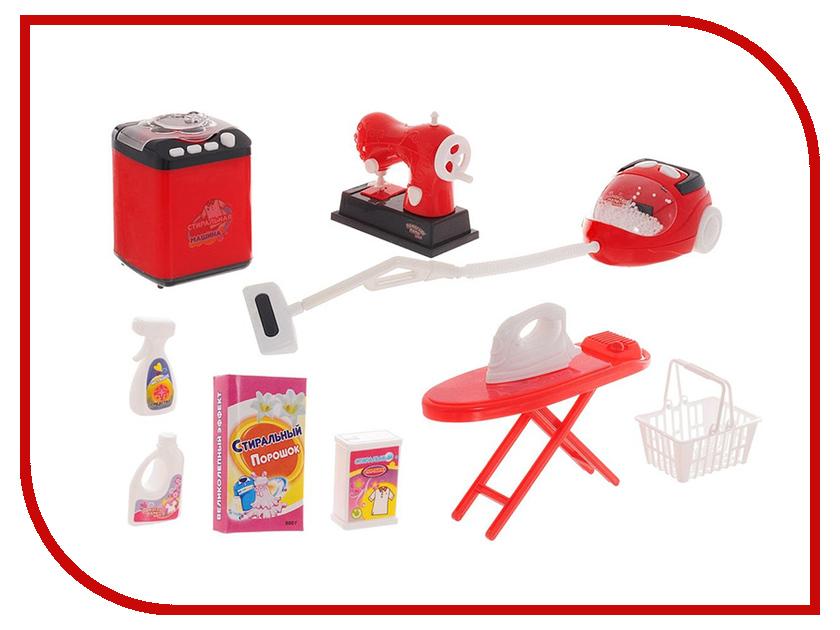 Игра ABtoys Набор для стирки, уборки и шитья Помогаю маме PT-00662 корзина тележка для продуктов abtoys помогаю маме pt 00358