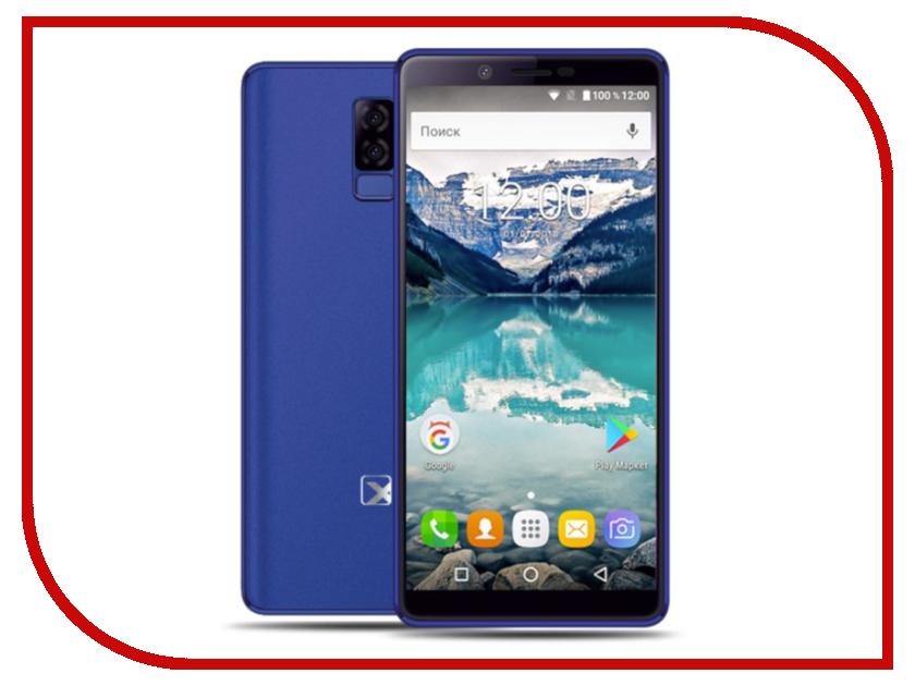 Сотовый телефон teXet TM-5581 Blue сотовый телефон texet tm 400 blue