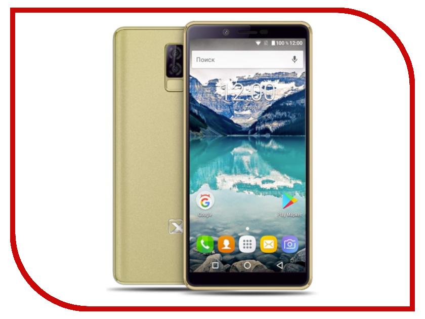 Сотовый телефон teXet TM-5581 Gold сотовый телефон texet tm 404 gold