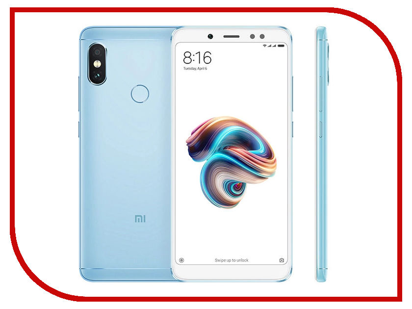 Сотовый телефон Xiaomi Redmi Note 5 4Gb RAM 64Gb Blue