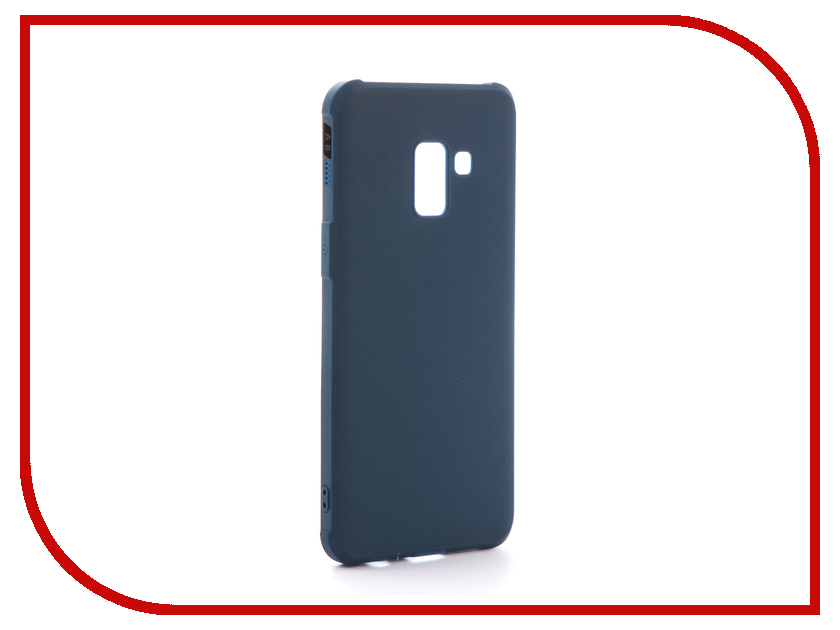 Аксессуар Чехол для Samsung Galaxy A8 2018 А530 Red Line Extreme Blue УТ000014030 аксессуар чехол red line extreme для apple iphone 6 6s blue ут000012544