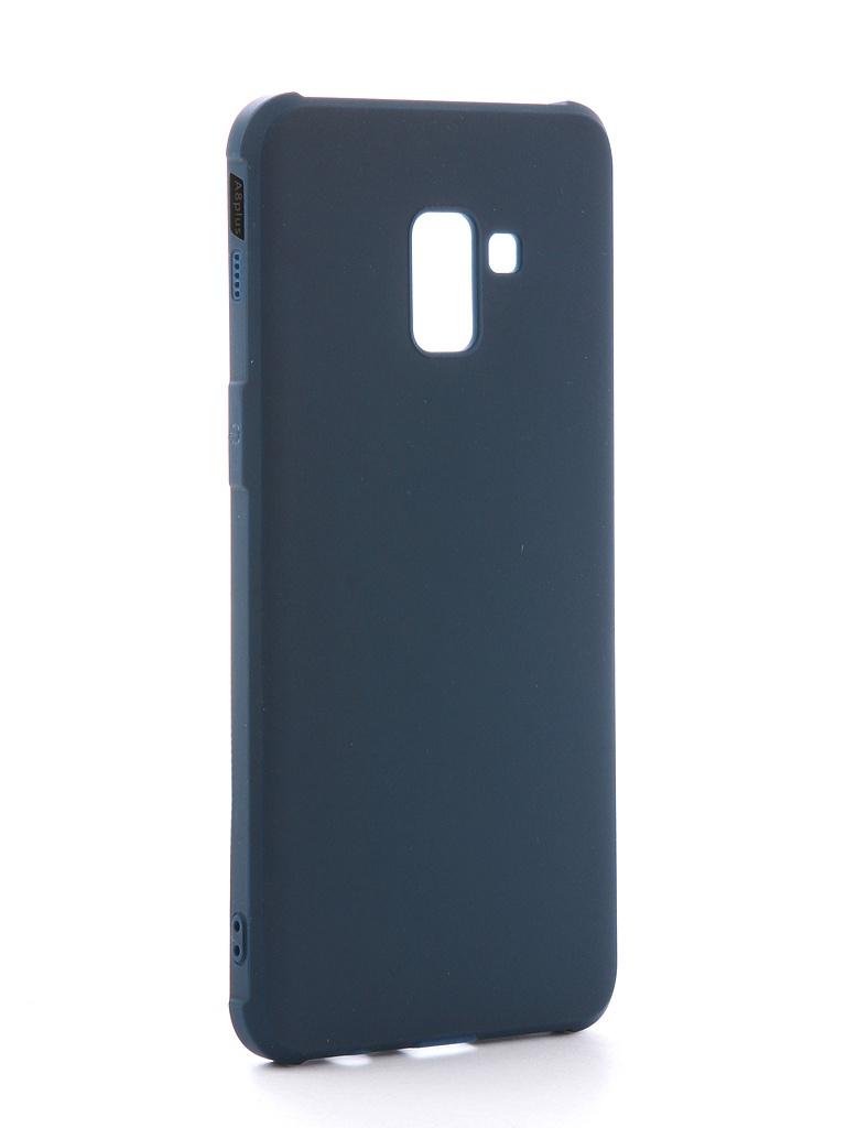 Аксессуар Чехол Red Line для Samsung Galaxy A8 Plus 2018 А730 Extreme Blue УТ000014032 цена и фото