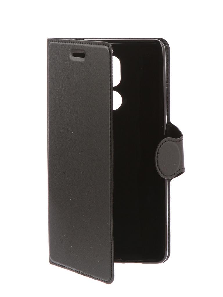 Аксессуар Чехол-книжка Red Line для Nokia 7 Plus Book Type Black УТ000014621 protective glass red line for nokia 7 plus full screen black