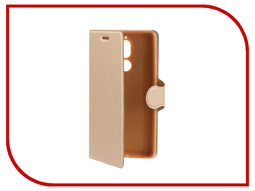 Аксессуар Чехол-книжка для Nokia 7 Plus Red Line Book Type Gold УТ000015153 часы nixon porter nylon gold white red