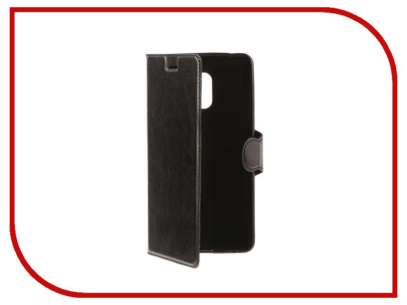 Аксессуар Чехол-книжка для Nokia 6 Red Line Book Type Black 110db loud security alarm siren horn speaker buzzer black red dc 6 16v