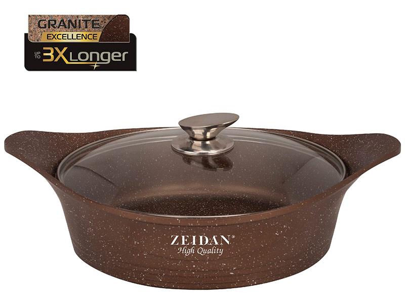 Сковорода Кастрюля-жаровня Zeidan 7L 32cm Z-50260 жаровня zeidan z 50309