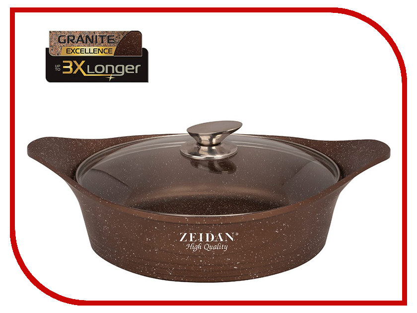 Кастрюля-жаровня Zeidan 5L 28cm Z-50259 чайник zeidan 2 5l z 4115 01