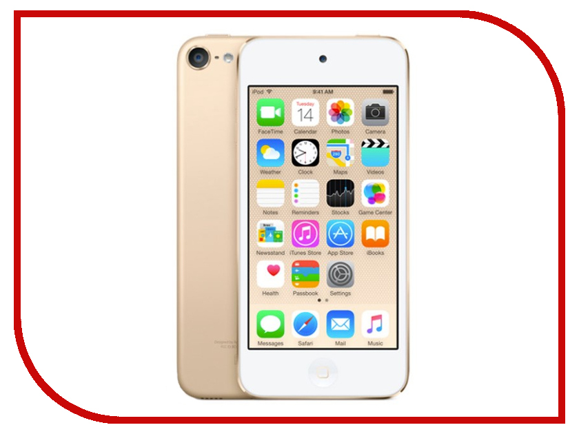 Плеер APPLE iPod Touch 128Gb Gold MKWM2RU/A цена