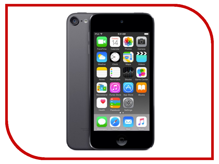Плеер APPLE iPod Touch 128Gb Space Gray MKWU2RU/A аудио apple ipod touch 128gb голубой