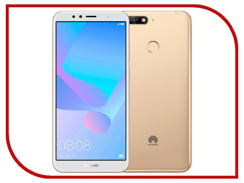 Сотовый телефон Huawei Y6 Prime (2018) 16GB Gold сотовый телефон digma linx a177 2g