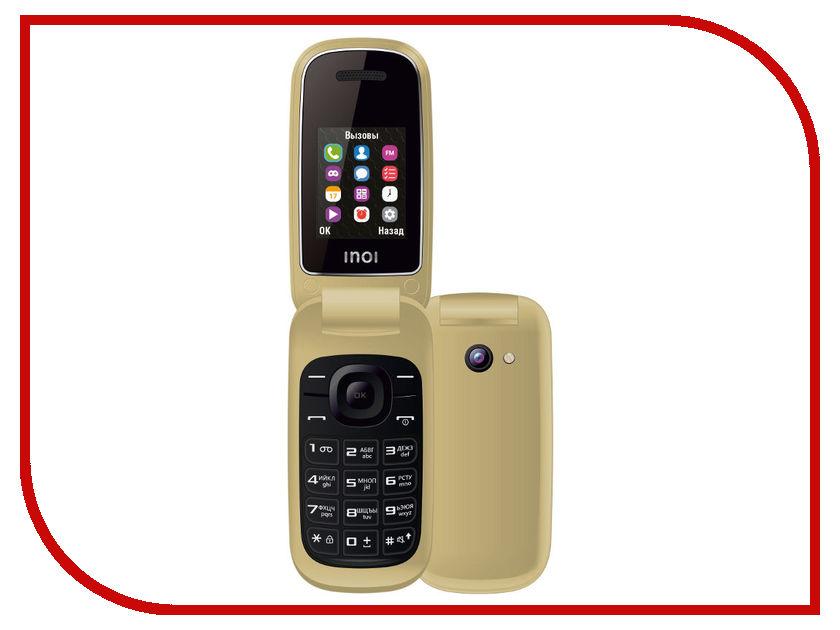 Фото - Сотовый телефон Inoi 108R Gold проводной и dect телефон foreign products vtech ds6671 3