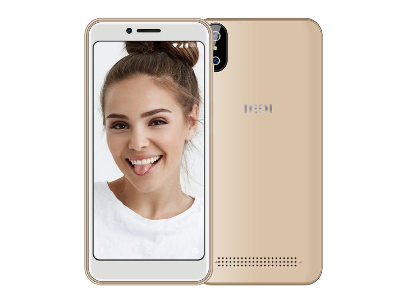 Сотовый телефон INOI 3 Lite Gold цена и фото
