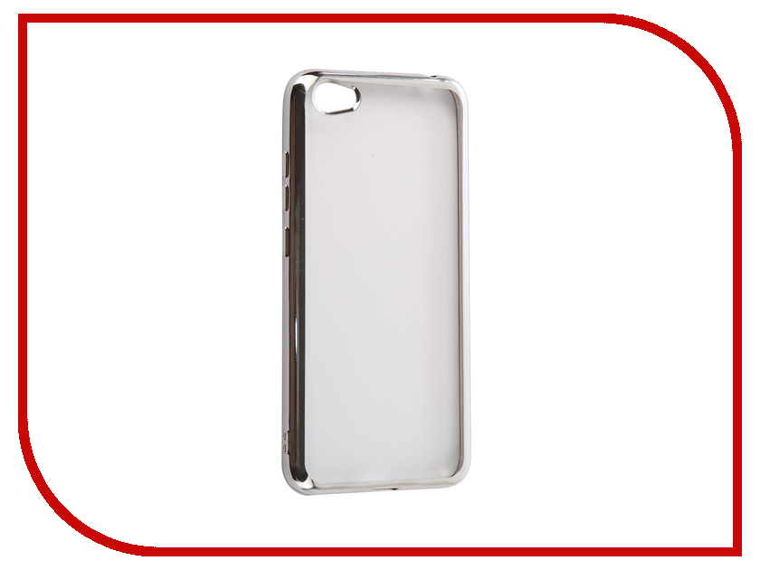 Аксессуар Чехол Xiaomi Redmi Note 5A 2Gb+16Gb iBox Blaze Silver аксессуар чехол xiaomi redmi note 4x ibox blaze silicone gold frame