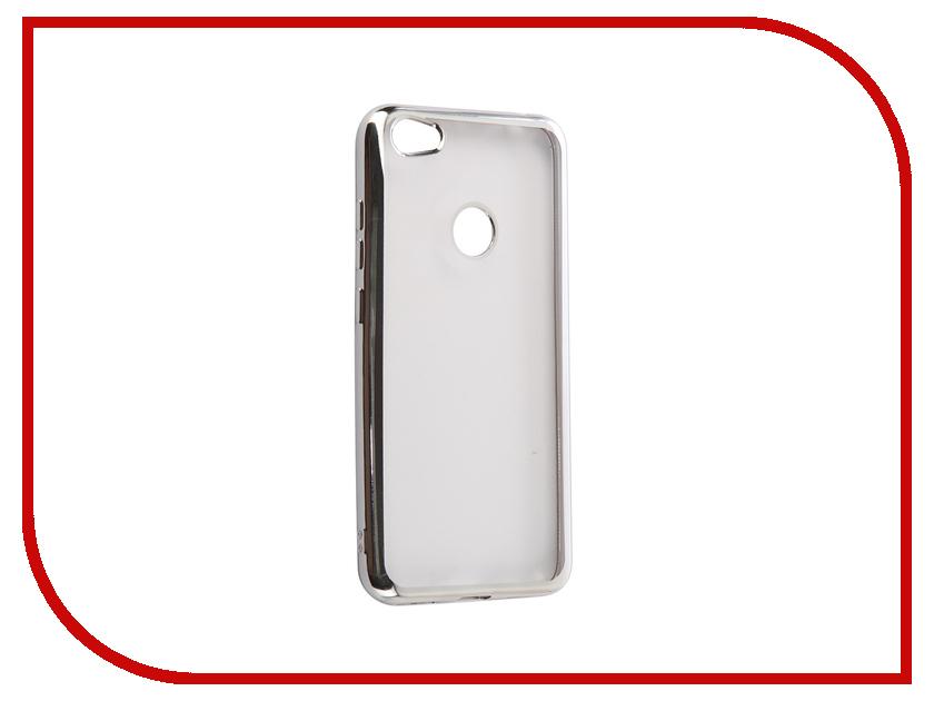 Аксессуар Чехол Xiaomi Redmi Note 5A 3Gb+32Gb iBox Blaze Silver аксессуар чехол xiaomi redmi note 4x ibox blaze silicone gold frame