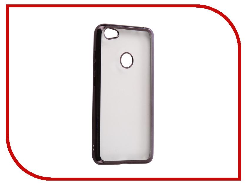 Аксессуар Чехол Xiaomi Redmi Note 5A 3Gb+32Gb iBox Blaze Black аксессуар чехол xiaomi redmi note 4x ibox blaze silicone gold frame