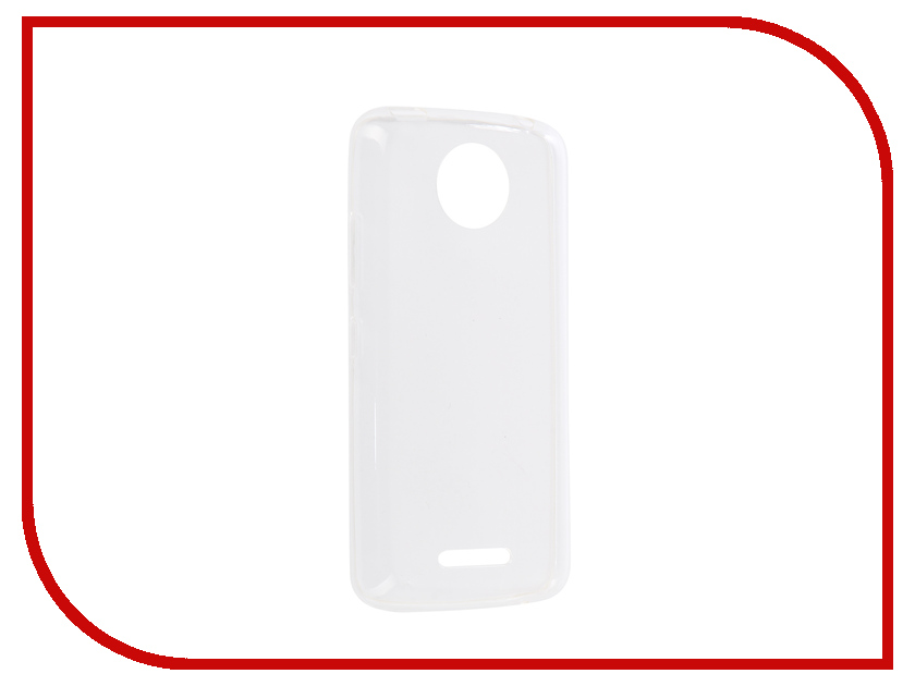 Аксессуар Чехол для Motorola Moto C Plus iBox Crystal Transparent mooncase чехол for motorola moto g3 en caoutchouc dur retour housse or