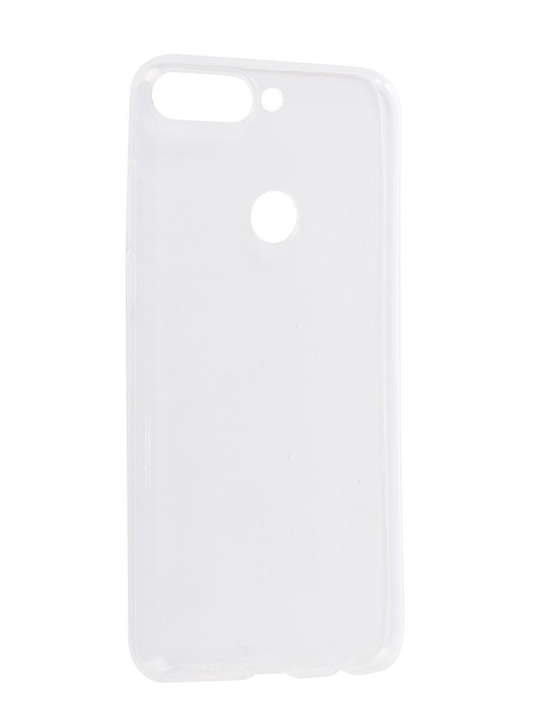 Аксессуар Чехол iBox для Honor 7C Crystal Transparent аксессуар чехол honor 7c pro ibox soft touch fresh blue ут000017256