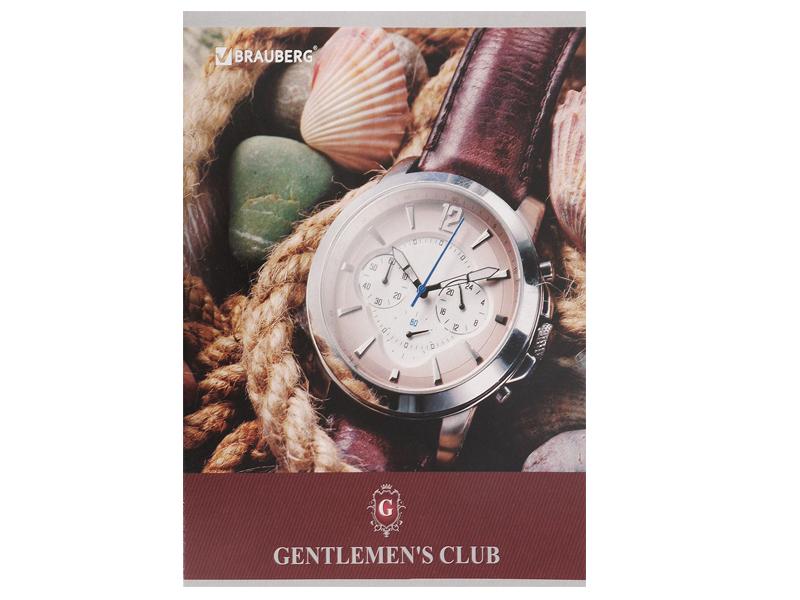 Тетрадь Brauberg A5 48 листов Клуб джентельменов 401835