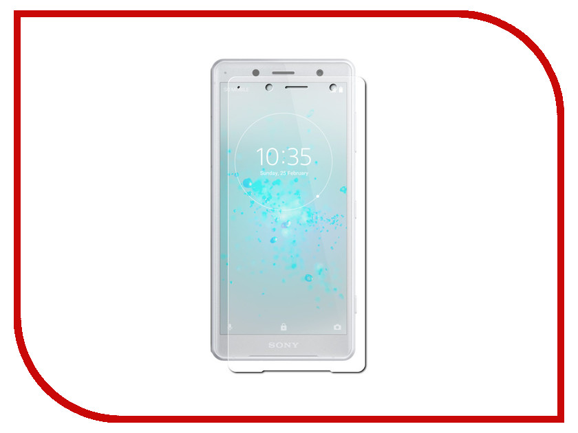 Аксессуар Защитная пленка для Sony Xperia XZ2 5.7 Red Line TPU Full Screen УТ000015749 temei ultrathin protective tpu back case for sony xperia z1 l39h deep pink