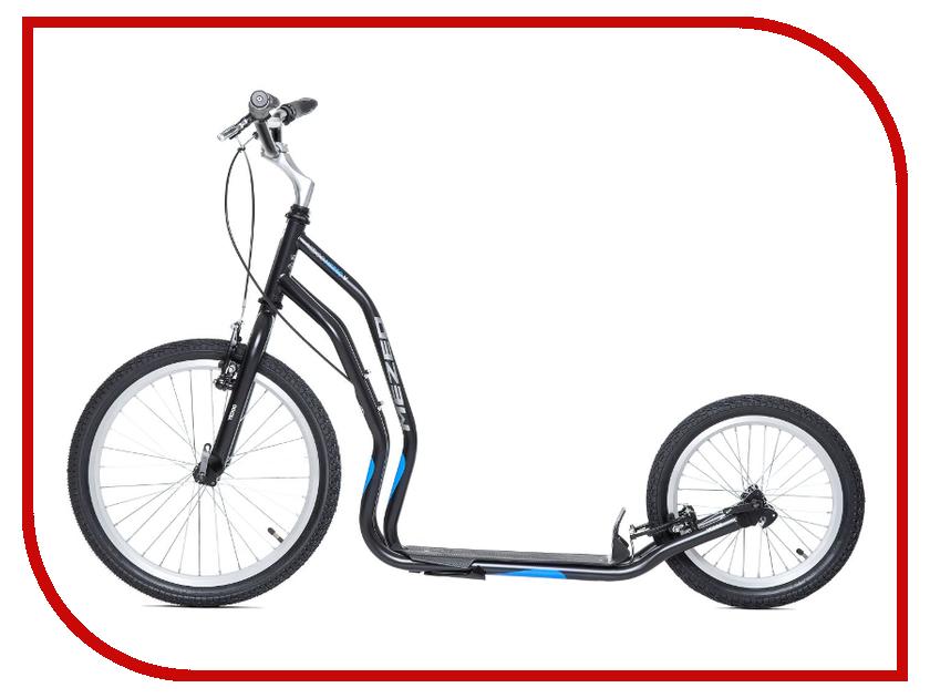 Самокат Yedoo Mezeq Vbr New Black-Blue 111302 цены онлайн