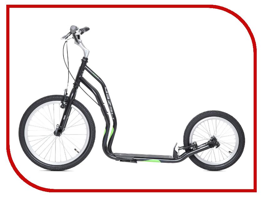 Самокат Yedoo Mezeq Vbr New Black-Green 111303 цены онлайн