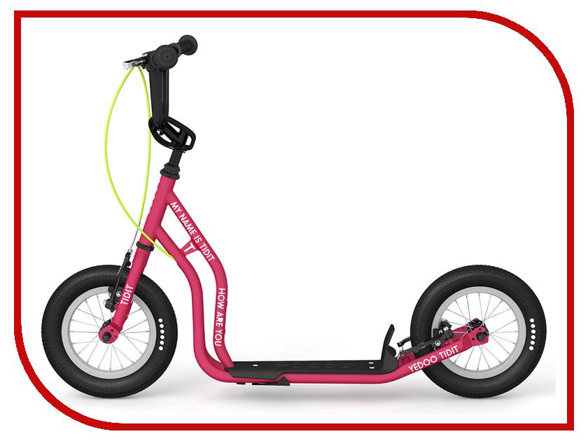 Самокат Yedoo Tidit New Pink 111016 цена