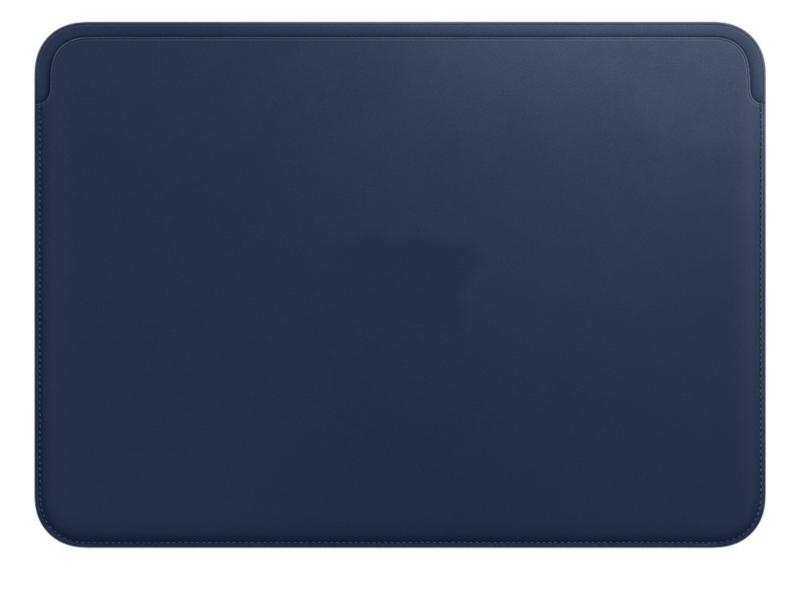 Аксессуар Чехол APPLE Leather Sleeve для MacBook 12 Midnight Blue MQG02ZM/A все цены