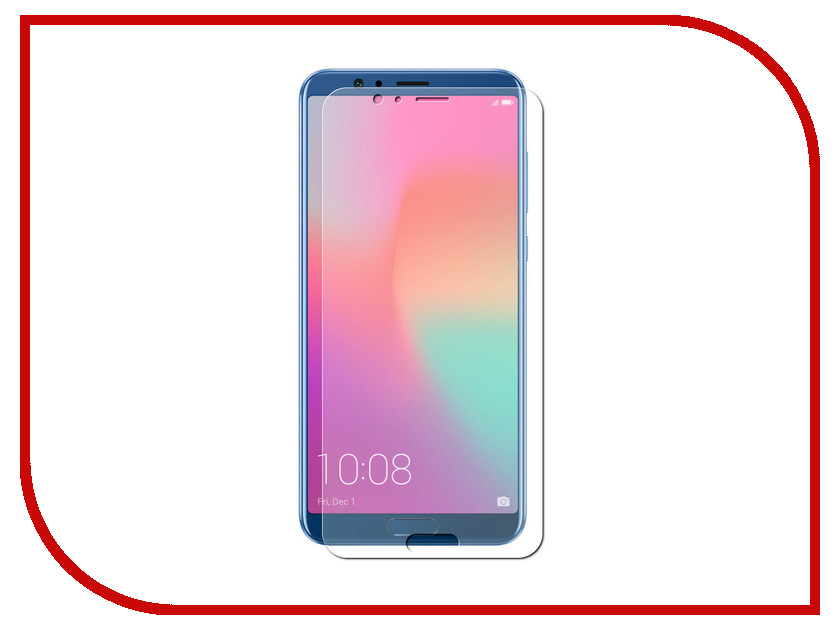 Аксессуар Гибридная защитная пленка для Huawei Honor View 10 5.99 Red Line TPU Full Screen УТ000015515 lcd screen display touch digitizer with frame for huawei honor 7i not for honor 7 blue or white or gold free shipping