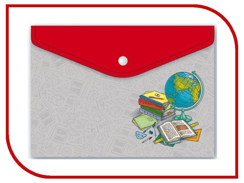 Папка для документов Феникс+ Глобус и книги А4 33x32.5 46618 книги феникс не сыпь мне соль на рану или солетерапия для вашего здоровья