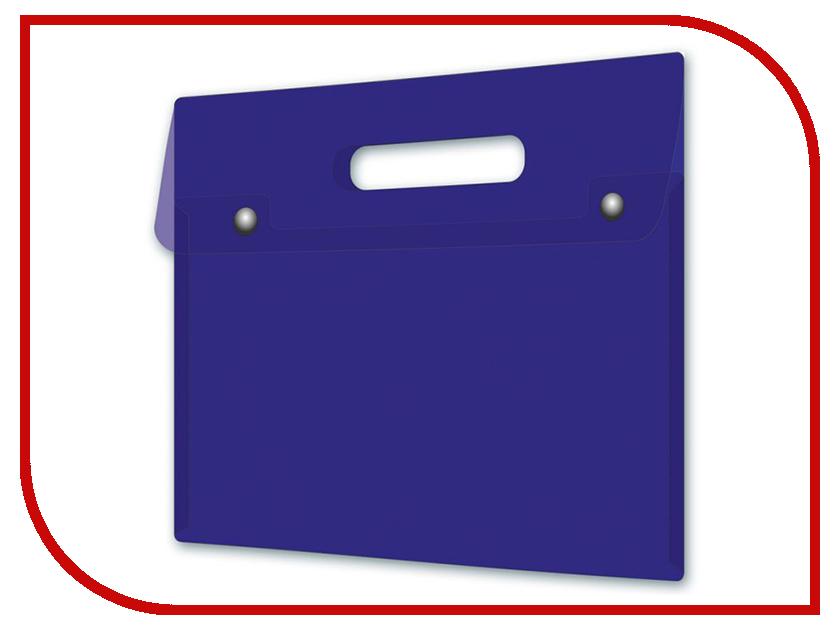 Папка Феникс+ A4 32x28 Blue 46743 папка для документов феникс a4 33x23 3 black 41696