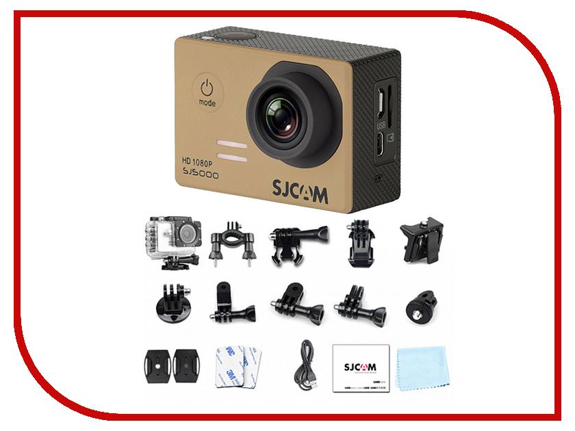 Экшн-камера SJCAM SJ5000 Gold экшн камера sjcam m20 серебристый