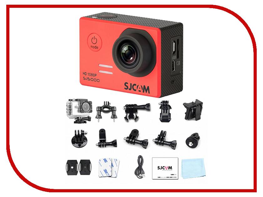 Экшн-камера SJCAM SJ5000 Red экшн камера sjcam m20