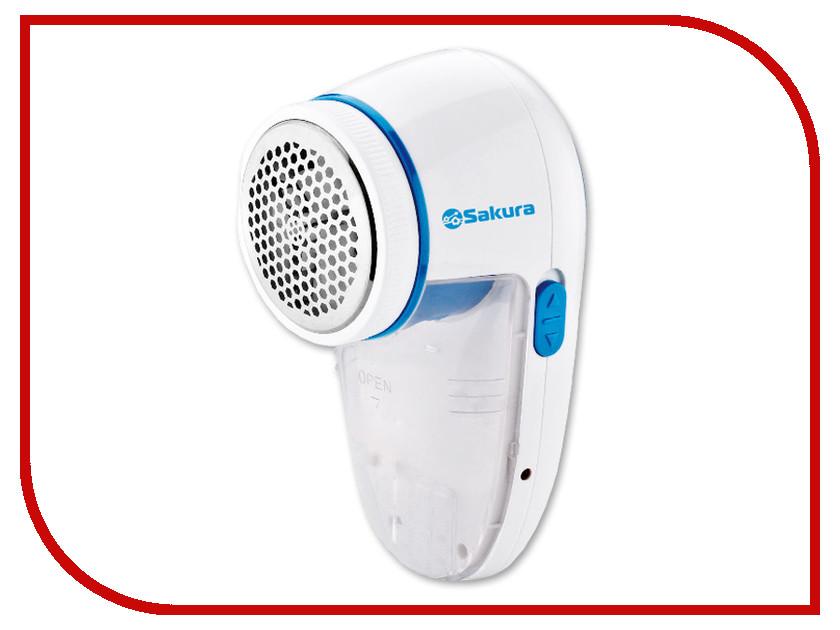 Машинка для удаления катышков Sakura SA-5206 Blue машинка для стрижки волос sakura premium sa 5110r