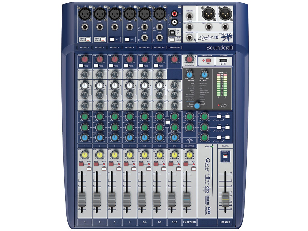 Пульт Soundcraft Signature 10