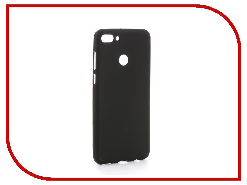 Аксессуар Чехол для Huawei Honor Y9 2018 Zibelino Soft Matte Black ZSM-HUA-Y9-2018-BLK аксессуар чехол huawei y5 ii zibelino sottile black zs hua y5ii blk